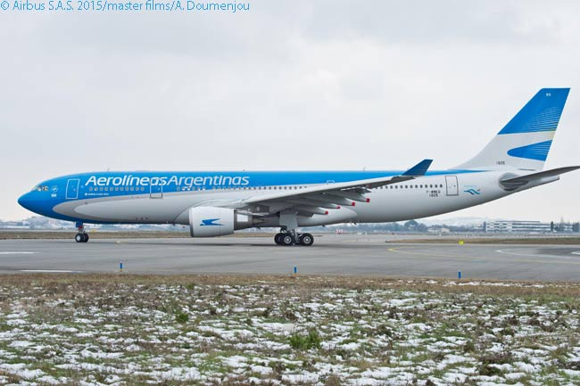 Aerolineas Argentinas is using four new A330-200s it ordered from Airbus to renew and consolidate its long-haul fleet