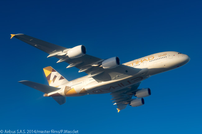 Etihad Airways identified its first three A380 destinations from its Abu Dhabi International Airport hub as London Heathrow Airport, Sydney Airport and New York JFK