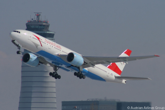 Austrian Airlines operates five Boeing 777-200ERs. They are the largest and longest-haul aircraft in its fleet