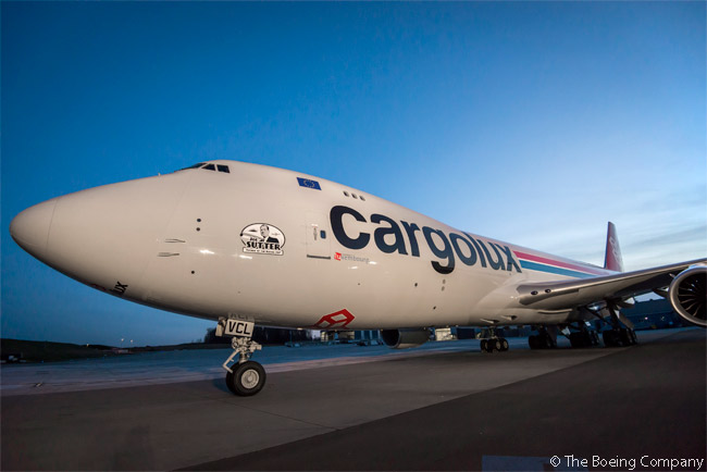 Cargolux Airlines International took delivery of its 12th new Boeing 747-8 Freighter in early March 2015. The aircraft was also the 30th new 747 Freighter delivered to the Luxembourg-based cargo airline over the course of its nearly 40-year relationship with Boeing