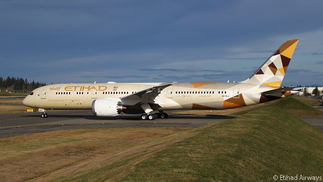With 41 aircraft on firm order by the airline, the Boeing 787-9 is set to become a mainstay of Etihad Airways' long-haul fleet. Etihad has also ordered 30 787-10s