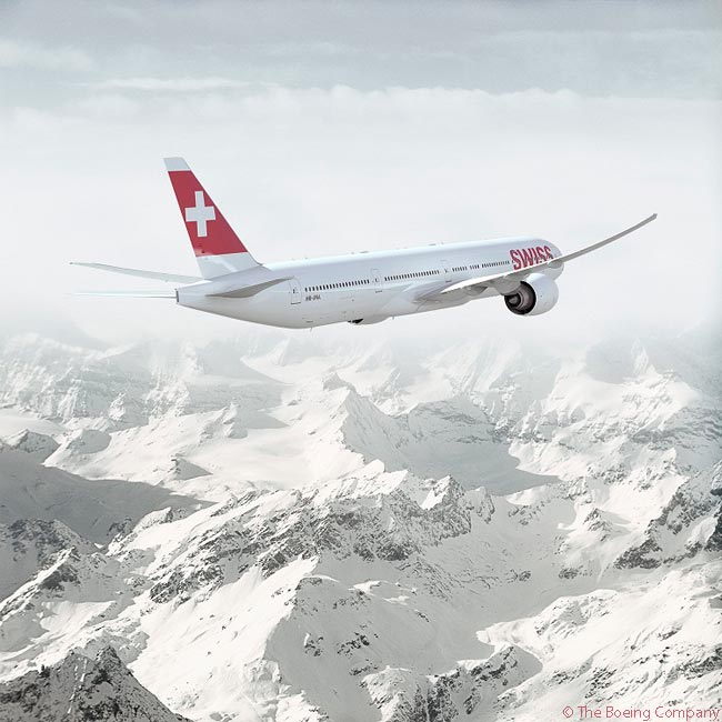 On March 12, 2015, Lufthansa Group said it would increase subsidiary Swiss International Air Lines' order for Boeing 777-300Ers to nine aircraft from six, with the three additional aircraft to be delivered in 2017