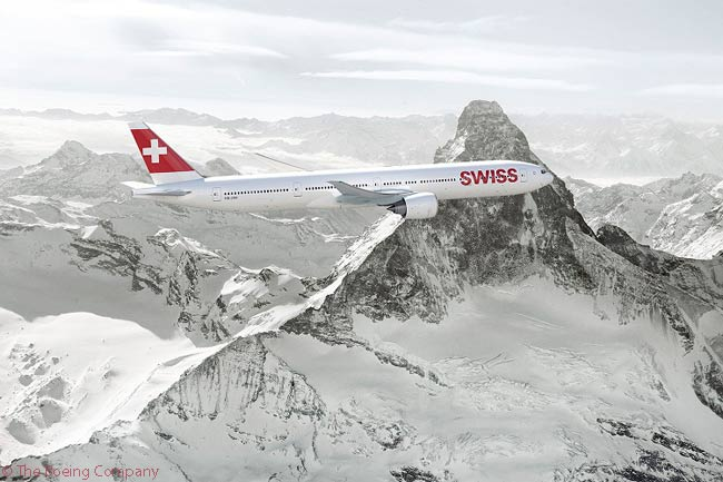 Swiss International Air Lines was due in 2016 to become Lufthansa Group's only subsidiary operating the Boeing 777-300ER. It was scheduled to take delivery of the first of nine ordered 777-300ERs in 2016