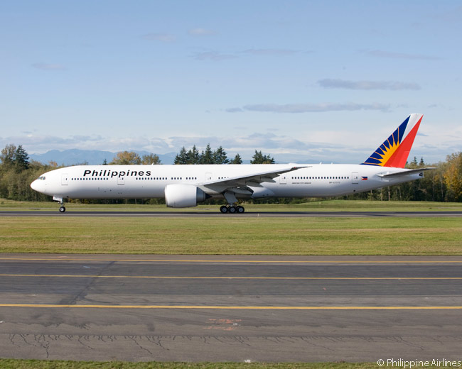 Until at least 2021, the Boeing 777-300ER will be the largest aircraft type in the Philippine Airlines fleet. Eventually it could be supplanted as PAL's largest aircraft by the Boeing 777X