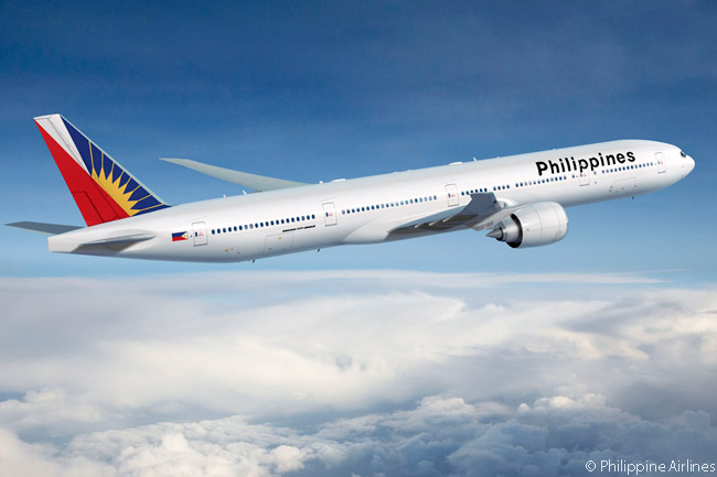 Philippine Airlines operates six Boeing 777-300ERs