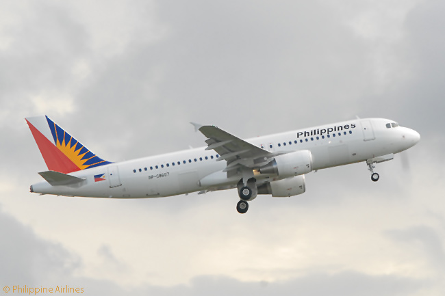 Philippine Airlines operates routes linking 30 domestic destinations in the Philippines, using a fleet of Airbus A320-family single-aisle jets such as this A320