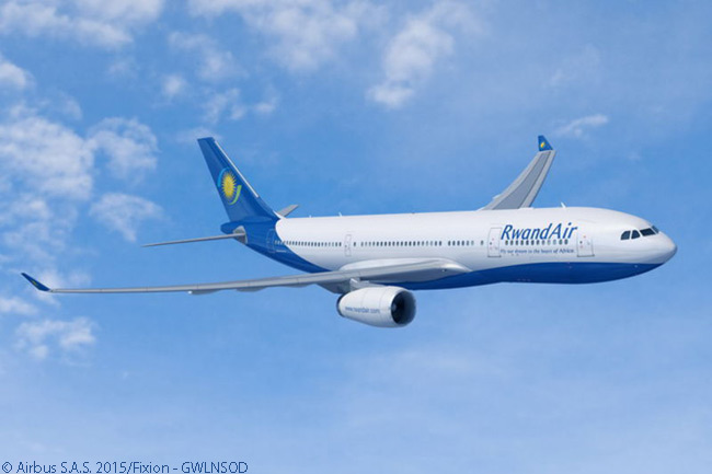 On March 24, 2015, Rwanda's flag-carrier RwandAir signed a memorandum of understanding with Airbus for two A330-200 widebodies. The MOU made RwandAir both a new Airbus customer and the first airline in East Africa to commit to ordering the A330