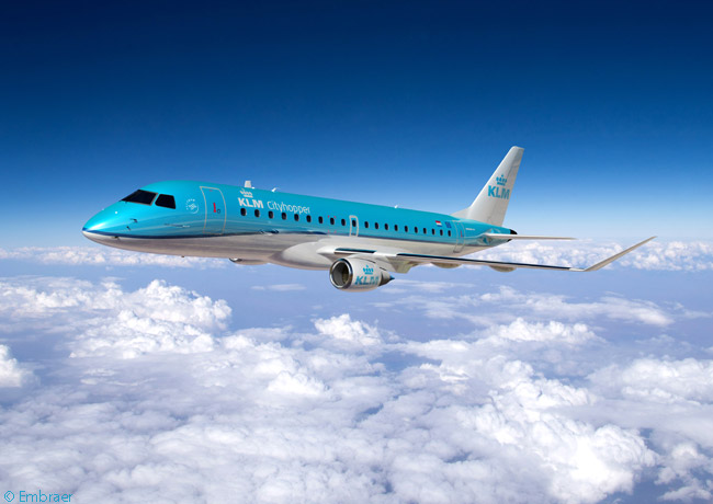 On March 30, 2015, KLM Cityhopper, KLM's regional-airline subsidiary, announced an order for 15 Embraer 175s and two Embraer 190s optioned another 17 E-Jets. The aircraft were to join 28 Embraer 190s already in service with KLM Cithopper and would replace the carrier's remaining 19 Fokker 70s
