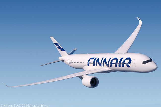 By April 2015, oneworld member Finnair had a total of 19 Airbus A350-900s on order and was set to make the type the most prominent aircraft numerically in its long-haul fleet
