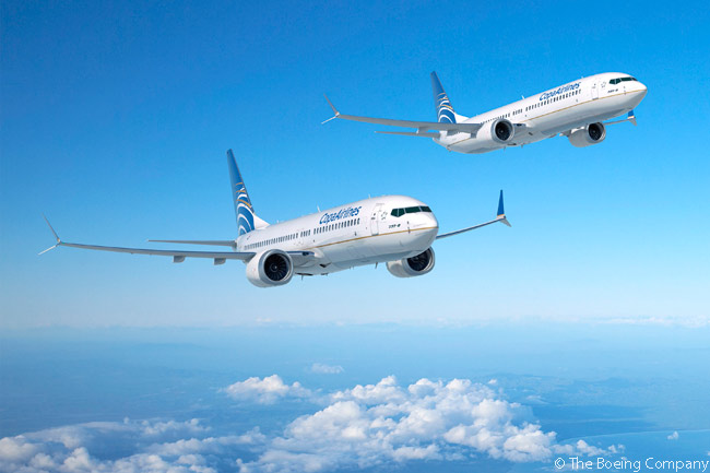 On April 10, 2015, Copa Airlines singed a purchase agreement for 61 Boeing 737 MAX 8 and MAX 9 jets. The order, valued at $6.6 billion at list prices, was the largest-ever commercial transaction between a Panamanian company and a U.S.-based company. Copa's April 10, 2015 agreements included a $1.6 billion order from CFM International for 122 LEAP-1B engines to power the 61 737 MAXs, indicating Boeing valued the airframes-only part of the deal at $5 billion and that the engines represented a quarter of the price of each 737 MAX jet