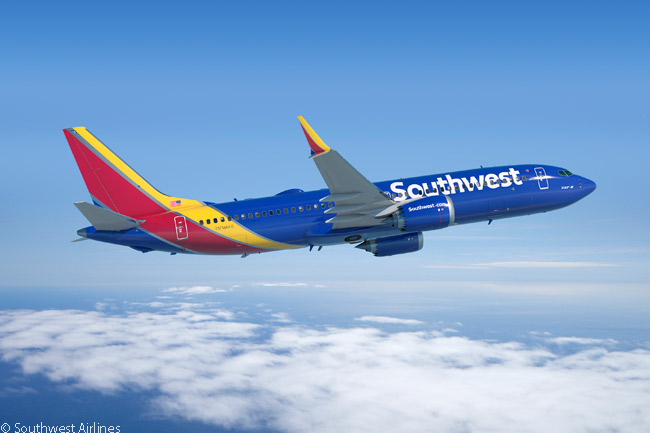 Southwest Airlines was the launch customer for the Boeing 737 MAX family and by April 2015 the carrier had placed orders and secured options for a total of 391 737 MAX-family jets