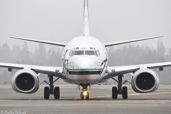 Alaska Airlines' all-Boeing 737 contains a variety of 737 models. Among them is the 737-700, of which the carrier operates 14
