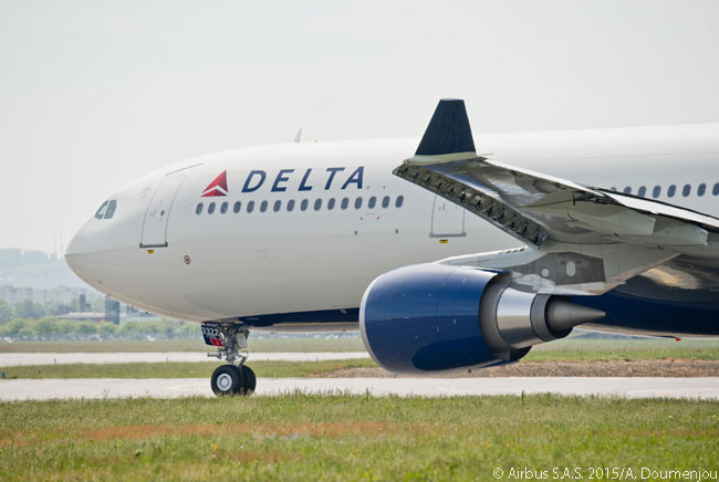 On 28 May 2015, Delta Air Lines became the first customer to take delivery of the enhanced A330-300 variant which offers a 242-tonne maximum take-off weight and a range of up to 6,100 nautical miles