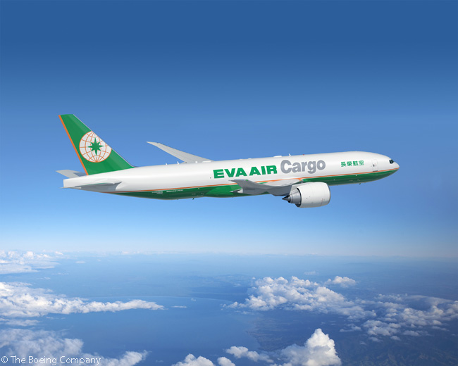 On the first day of the Paris Air Show 2015, June 15, Boeing revealed Taiwan's EVA Airways was planning to order five Boeing 777 Freighters for its EVA Air Cargo freight operation