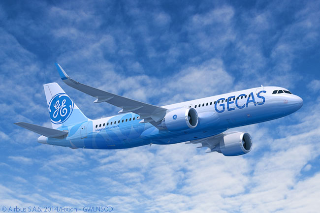 On June 15, 2015, on the first day of the Paris Air Show, GE Capital Aviation Services placed an order for 60 Airbus A320neo-family jets. GECAS ordered CFM International LEAP-1A engines to power all 60 aircraft