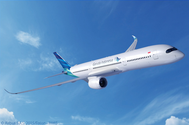 Garuda Indonesia made headlines on June 15, 2015 at the Paris Air Show by signing a letter of intent for 30 Airbus A350 XWB widebodies as well as a letter of intent with Boeing for 30 787-9s and up to 30 737 MAX 8s