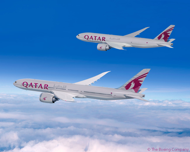On June 15, 2015, on the first day of the Paris Air Show, Qatar Airways announced an order for 10 Boeing 777-8Xs and four Boeing 777 Freighters