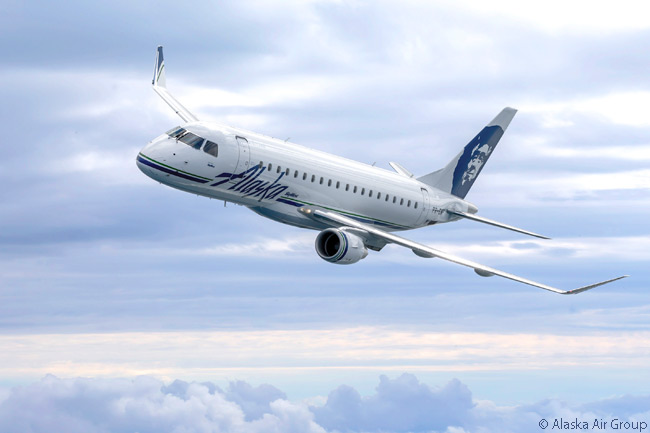 In addition to beginning operations for the Alaska Airlines network on July 1, 2015 with seven previously ordered Embraer 175s, SkyWest, Inc. subsidiary SkyWest Airlines announced an order for eight more on June 15, 2015. SkyWest ordered these aircraft to replace before the end of 2016 eight Bombardier CRJ700s it has operated on behalf of Alaska Airlines