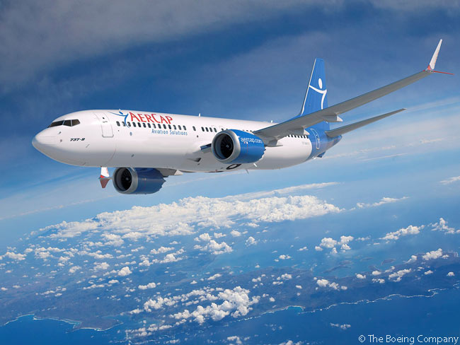 AerCap, the world's largest aircraft-leasing company, became a Boeing 737 MAX customer for the first time on June 16, 2015, when it announced at the Paris Air Show a headline-grabbing order for 100 737 MAX 8s