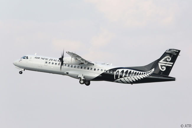 On June 16, 2015, Air New Zealand took delivery at the Pais Air Show of the seventh of 13 previously ordered ATR 72-600s and used the delivery ceremony to announce an order for another
