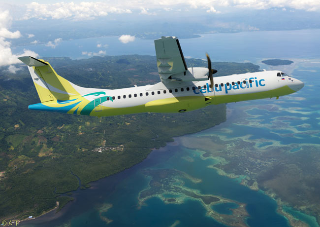 At the Paris Air Show on June 16, 2015, Philippines-based low-cost carrier Cebu Pacific Air ordered 16 ATR 72-600 turboprop regional airliners and optioned 10 more