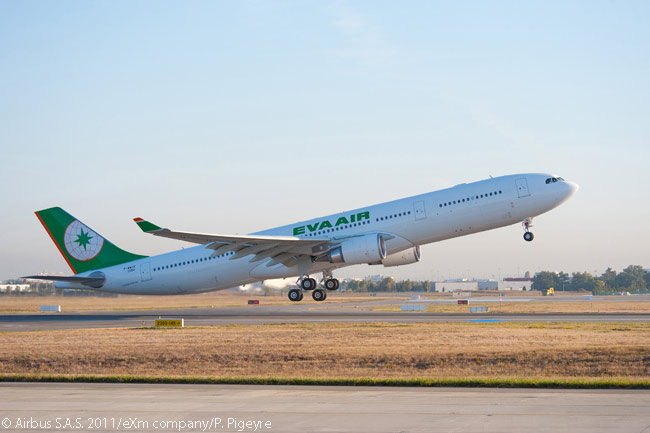 On June 16, 2016, at the Paris Air Show, Taiwanese carrier EVA Air signed a memorandum of understanding with Airbus to order four more A330-300 widebodies, to add to 11 A330-200s and three A330-300s it already had in service