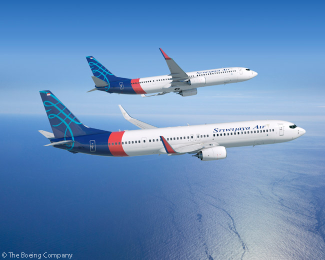 On June 16, Boeing announced at the Paris Air Show that Indonesia's Sriwijaya Air had ordered two Boeing 737-900ERs, in the Indonesian carrier's first order for new aircraft