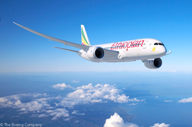 On June 17, 2015, Boeing revealed at the Paris Air Show that Ethiopian Airlines was the customer for six Boeing 787-8s which Boeing had previsouly attributed to an undisclosed customer. The aircraft were order to increase Ethiopian's Boeing 787-8 fleet to 19 aircraft