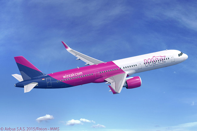 On June 18, 2015, Wizz Air signed a memorandum of understanding at the Paris Air Show for 110 Airbus A321neos. When firmed into a purchase contract, the deal would represent the single largest order for the A321neo. It took orders and commitments for A320neo-family above the 4,000-aircraft mark