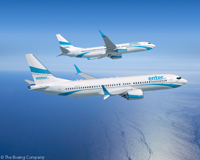 On June 19, 2015, Boeing revealed Polish carter carrier Enter Air was a previously undisclosed customer which had ordered two 737-800s and two 737 MAX 8s