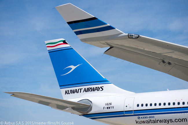 The bulk of Kuwait Airways' fleet renewal plan involves orders and leases for 37 new Airbus jets, including five leased new A330-200s