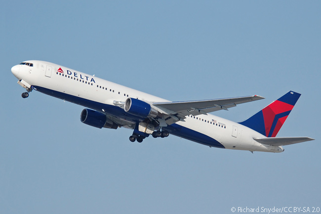 Delta Air Lines' massive fleet includes 16 non-extended range, twin-aisle Boeing 767-300s, but the airline intends eventually to replace them with single-aisle Boeing 737-900ERs