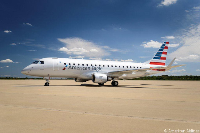 American Airlines and its regional-airline partners have ordered well over 100 Embraer 175s for operation on the American Eagle network