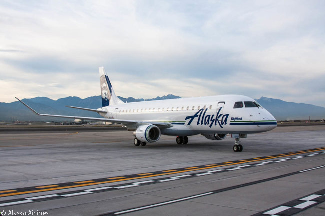 SkyWest Airlines ordered 15 new Embraer 175s to operate on behalf of the Alaska Airlines network