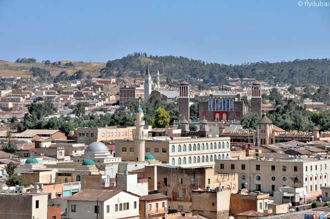 Asmara is the capital of Eritrea, a country in northeastern Africa with a long length of coastline on the Red Sea