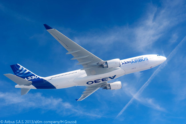 The A330 family is Airbus' top-selling widebody family to date