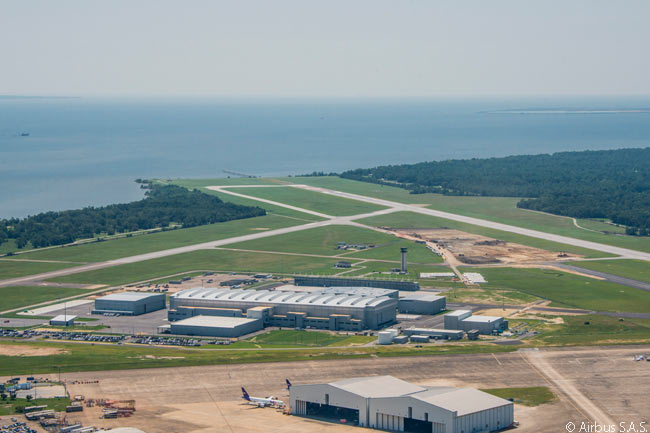 Following the start-up of aircraft assembly operations in July 2015, Airbus' Mobile, Alabama-based A320-family final assembly line was scheduled to deliver its first aircraft in 2016. Of the first 50 aircraft to be assembled at the facility, 49 were scheduled to be A321s