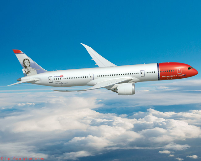 On October 22, 2015, Norwegian Air Shuttle ordered 19 Boeing 787-9s and optioned 10 more, in a deal which Boeing said was the largest order by any European carrier for the 787-9 up till then