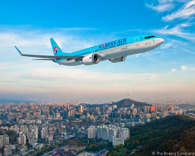 On November 5, 2015, Korean Air finalized into an order a previously announced commitment for 30 Boeing 737 MAX jets and two more 777-300ERs. Korean Air also secured options on 20 more 737 MAX 8s as part of the deal