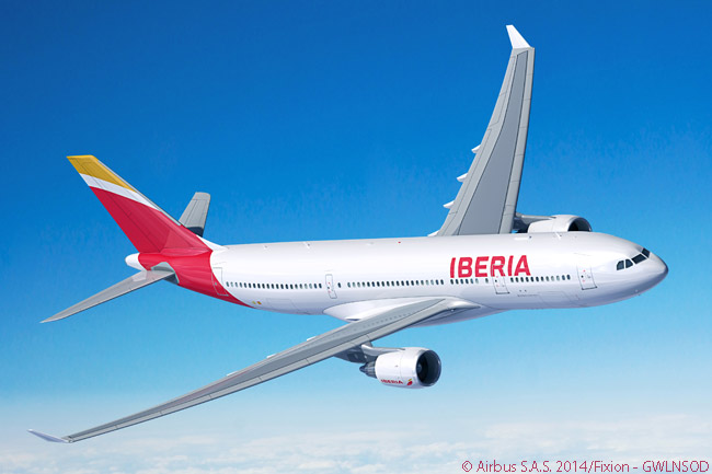 Two A330-200s ordered by International Airlines Group in November 2015 as part of a 19-aircraft deal were to be operated by group airline Iberia