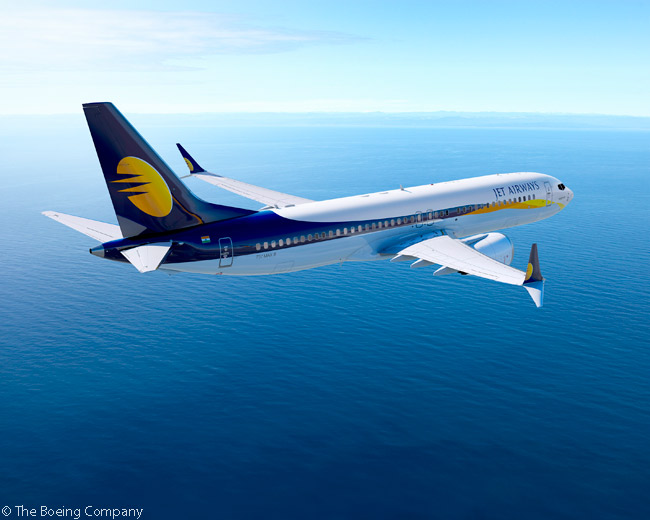On November 9, 2015, at the Dubai Airshow, Boeing revealed India's Jet Airways was the previously unannounced customer for 75 737 MAX 8s