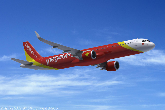 On November 10, 2015, Vietjet announced at the Dubai Airshow that it had ordered nine more A321s and 21 A321neos, bringing its future A321 fleet to 45 aircraft. Vietjet had also previously placed orders for 12 A320s and 42 A320neos, for a total of 54 A320s; and by November 2015, it was also operating at least 17 leased A320s