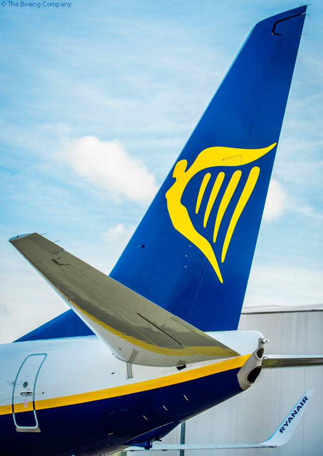 On November 11, 2015, Ryanair took delivery of the 375th Boeing 737-800 it had ordered directly from the manufacturer. Ryanair also has operated some leased 737-800s