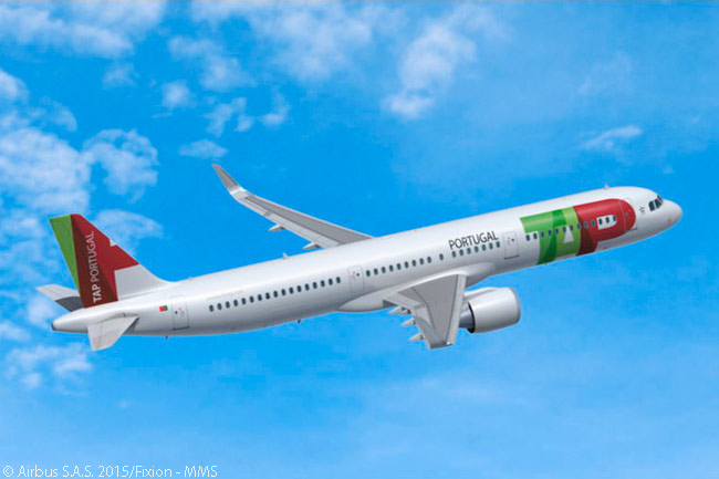 As part of an order for 39 A320neo-family jets on November 13, 2015, TAP Portugal specified 24 of the aircraft to be A321neos