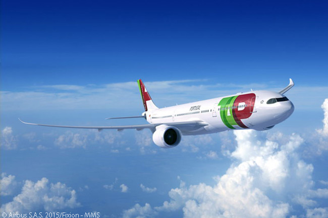 On November 13, 2015, Airbus announced TAP Portugal had signed a purchase agreement for 14 A330-900neo widebodies. However, the new order replaced TAP's previous order for 12 A350-900s, which the carrier canceled