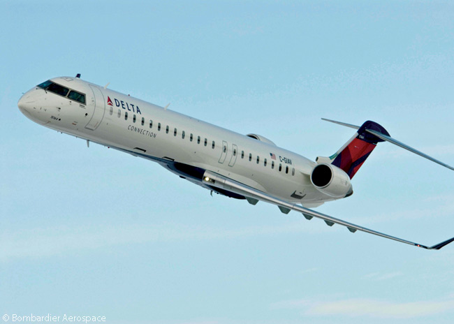As of late 2015, some 148 Bombardier CRJ900s, operated by a total of four regional carriers, were operated on the Delta Connection network