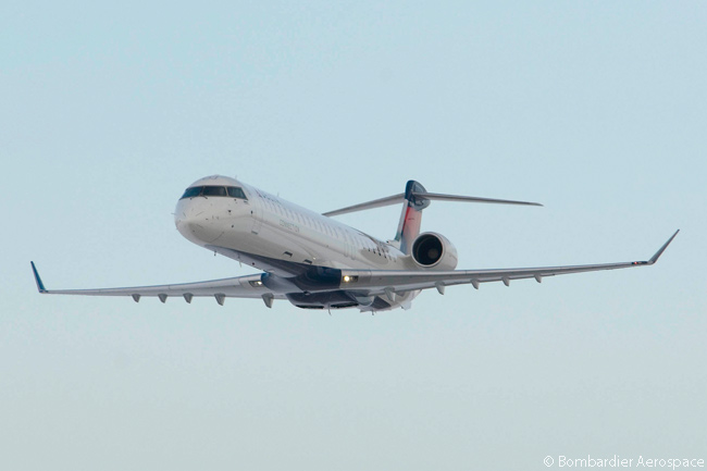 SkyWest Airlines, one of two massive regional airlines owned by SkyWest, Inc., operates 36 Bombardier CRJ900s on the Delta Connection network, on behalf of Delta Air Lines