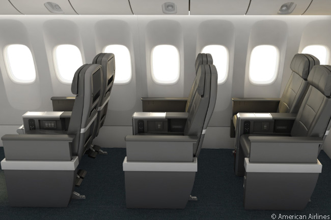 American Airlines announced on December 9, 2015 that it would introduce a new cabin class, Premium Economy, on all its international long-haul widebody aircraft. The new cabins include a new seat design and American intended to premiere the service in late 2016