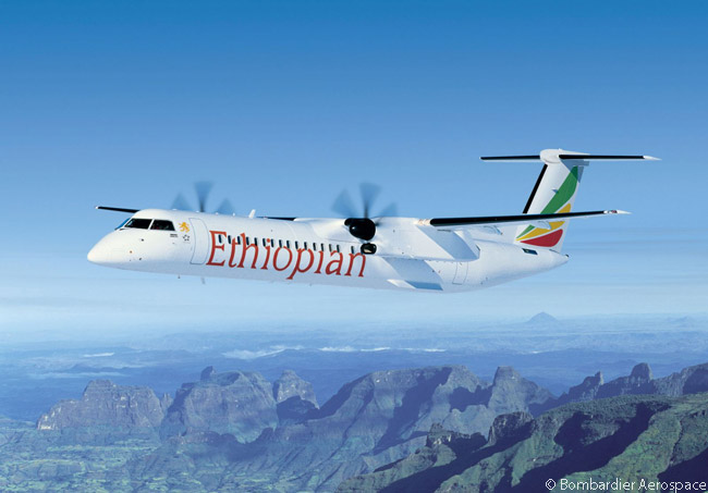 On December 29, 2015, Ethiopian Airlines signed a firm order for two additional Bombardier Q400s, increasing its fleet of the type to 19 aircraft