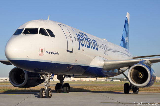 JetBlue Airways operates 130 Airbus A320s, all of which are in its 'All-Core' fleet